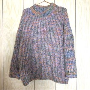 Sadie & Sage Sweater Purple Knit Sweater